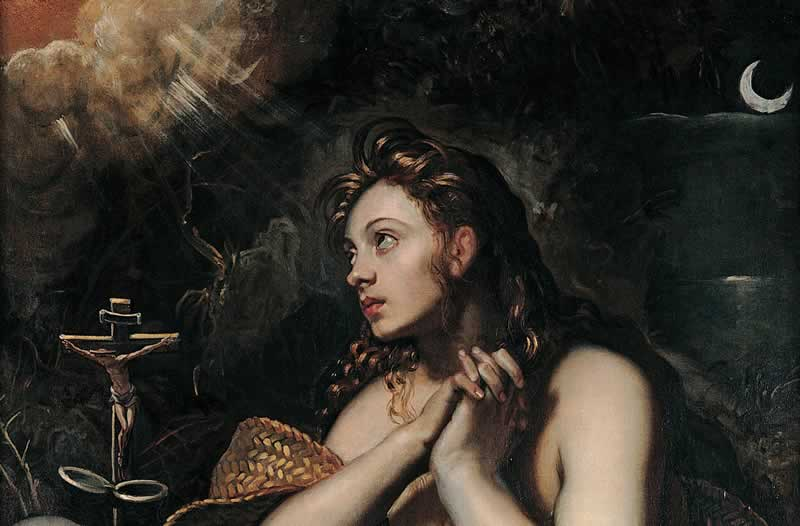 Sacred Journey France Magdalena painting by Tintoretto
