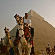 Camel Back Ride at Pyramids