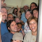 Fun on Train to Aswan