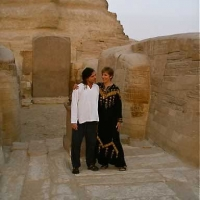 Mana and Jane Bell in Paws of Sphinx