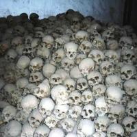 Skulls at St Catherine's Monastery