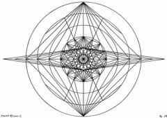 B14 Sacred Form Series B–Ascending Light Body Black on White