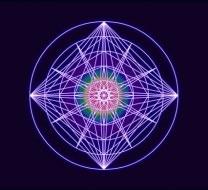 Sacred Forms Series VZ Rainbow Glow