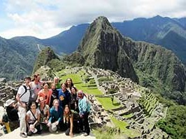 Sacred Journey Peru group at Machu Piechu