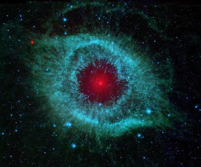 Monthly Inspiration: Divine Eye Nasa