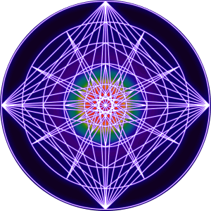 Sacred Form Rainbow Vizual