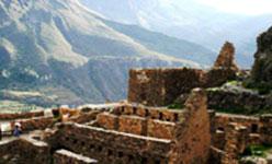 Ruins Ollantaytambo, Peru