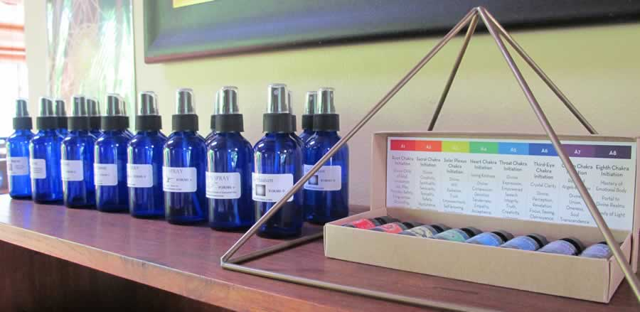 Sacred Forms Products—Sprays and Essences